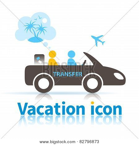 Travel Transfer Icon