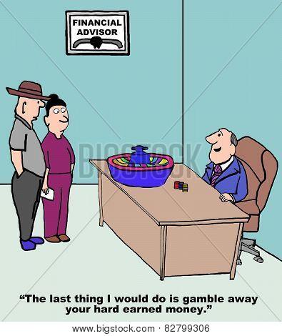 Gamble Hard Earned Money