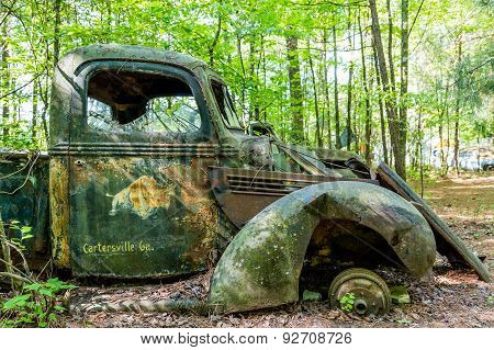 Old Truck From Cartersville Georgia