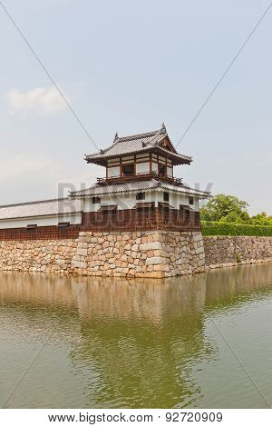Taikoyagura of Hiroshima Castle, Japan. National historic site