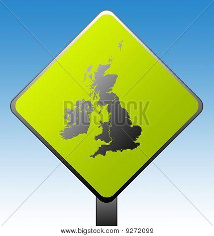 United Kingdom Road Sign