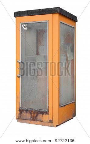Rundown Phone Box