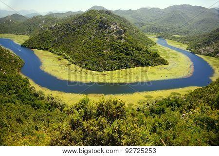 Skadarsko Jezero, Montenegro, The Largest Lake In The Balkans