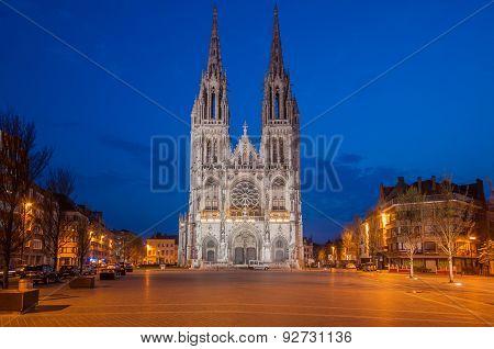 Sint Petrus & Paulus Church in Oostende, Belgium