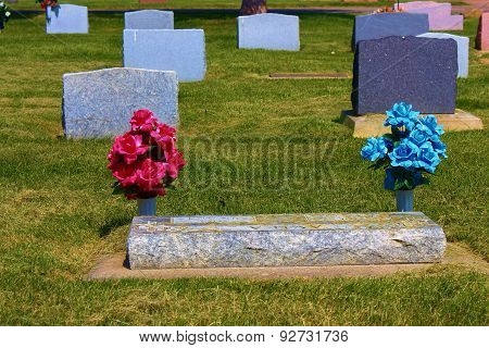 Colorful Cemetery