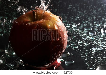 Apple And Water 1