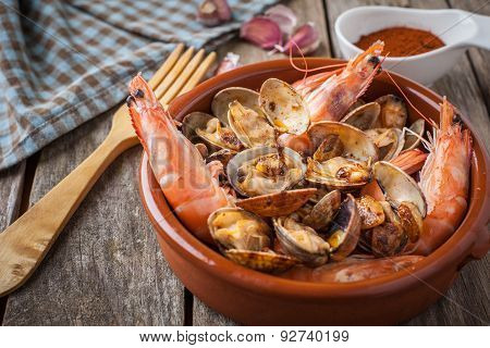 Seafood Style Clams