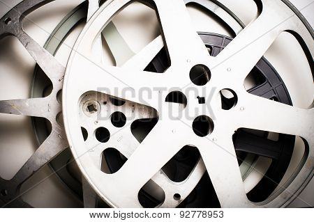 Movie Film Reels Empty Vintage Effect