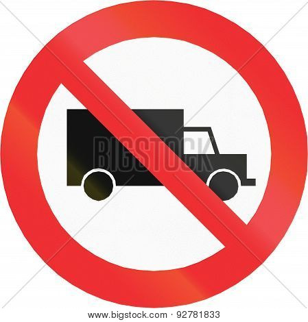 No Lorries In Chile