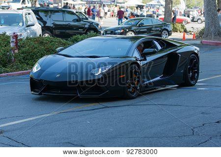 Lamborghini Aventador On Display