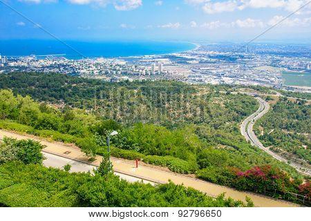 View Of The Bay Of Haifa
