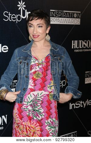 LOS ANGELES - JUN 5:  Naomi Grossman at the Step Up Women's Network 12th Annual Inspiration Awards at the Beverly Hilton Hotel on June 5, 2015 in Beverly Hills, CA