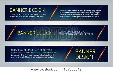 Abstract banner design. Vector. Disco nighclub disco DJ. Cosmic HUD sci-fi interface. Science news sport. War online games