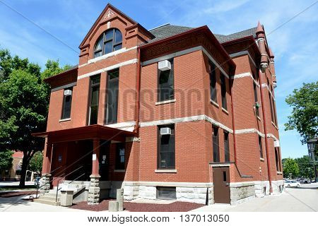Adair County Court House in Greenfield, Iowa