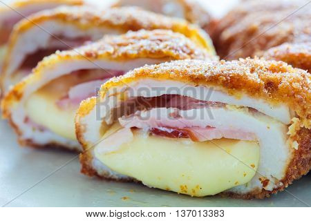 Cordon Bleu On A Plate