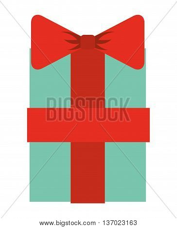 gift box isolated icon design, vector illustration  graphic