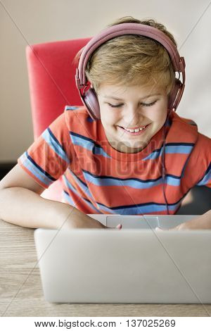 Boy Gaming Hobby Holiday Concept