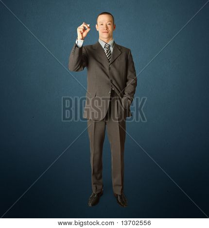 Businessman With Marker
