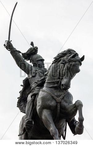 Statue Of Vittorio Emanuele Ii In Venice, Italy