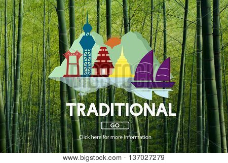 Traditional Celebrate Festival Pattern Style Concept