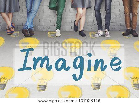 Imagine Vision Inspiration Creativity Dream Big Concept