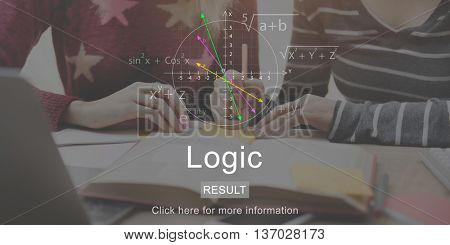 Logic Books Brainstorming Education Concept