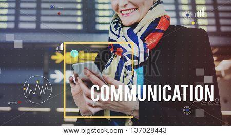 Communication Departure Flight Business Travel Concept