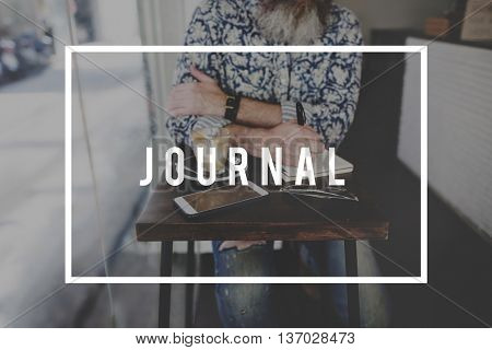 Journal Writing Report Article News Concept