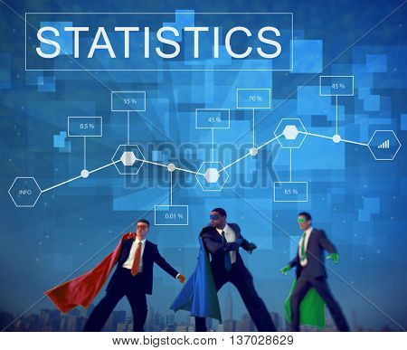 Business Statistics Plan Strategy Analytics Concept