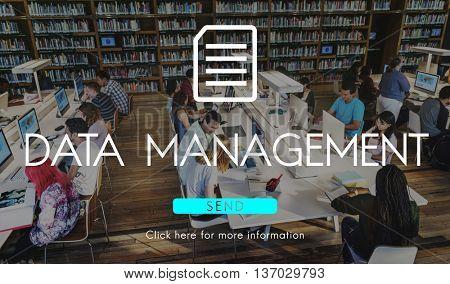 Big Data Storage Memory Cloud Database Digital Concept