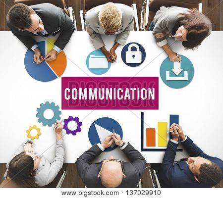 Communication Networking Technology Internet Concept