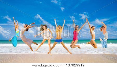 Active Girls Under the Sun
