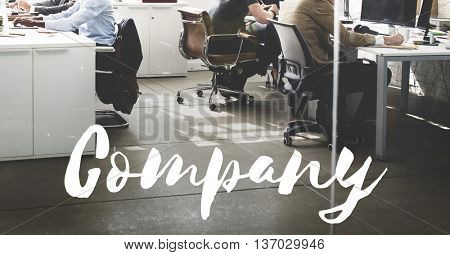 Company Business Organization Management Concept