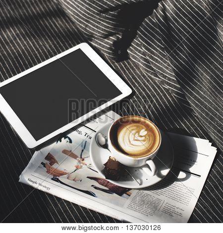 Mockup Copyspace Hands Digital Tablet Concept