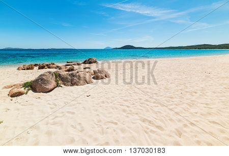 Liscia Ruja beach in Costa Smeralda Italy