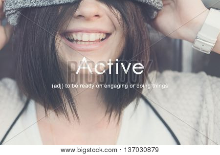 Active Action Casual Leisure Life Fitness Health Concept