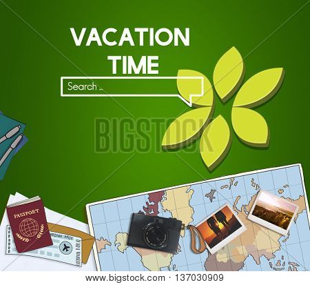 Adventure Exploration  Destination Travel Wanderlust Concept