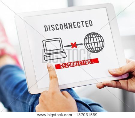 Disconnected Disconnect Error Inaccessible Concept
