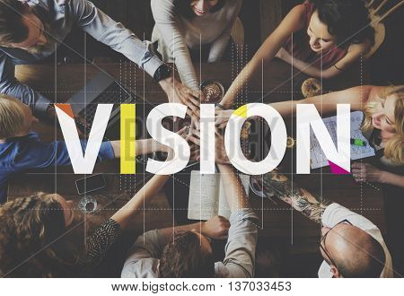 Vision Strategy Planning Goal Target Aspirations Motivation Concept