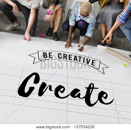 Create Creative Creativity Ideas Imagination Inspire Concept