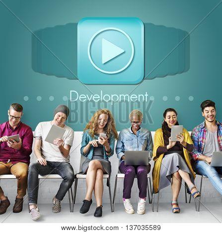 Development Change Growth Improvement Concept