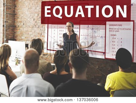 Equation Mathematics Calculation Chart Concept