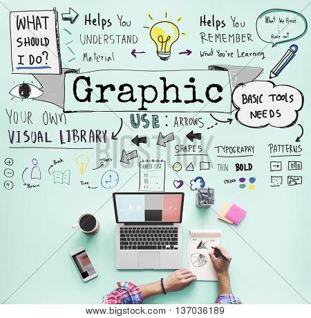 Graphic Creative Design Illustrative Visual Image Concept