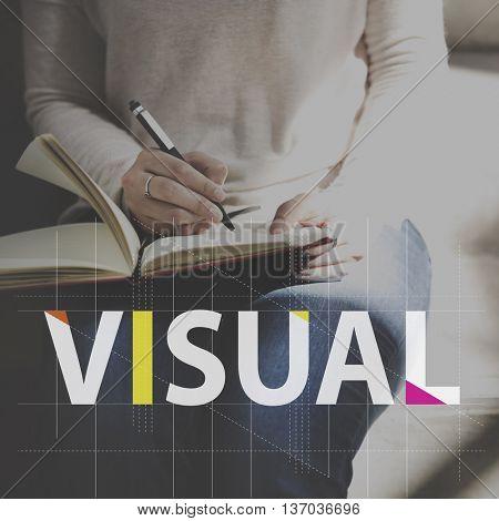 Visual Vision Strategy Planning Goal Target Aspirations Motivation Concept