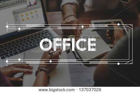 Office Department Organization Business Work Concept