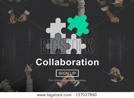 Collaboration Teamwork Together Partnership Concept