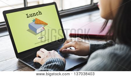 Today's Special Quick Recipes Menu LUnch Concept