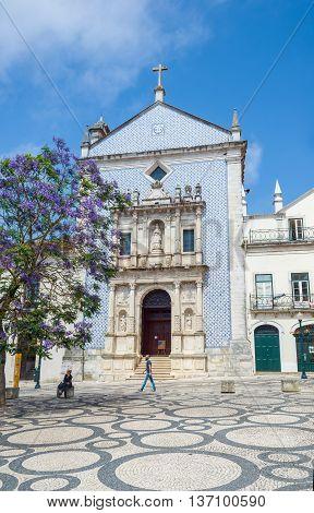 Igreja Da Misericordia In Aveiro, Portugal.