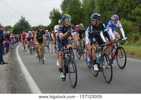 Montreuil Bellay, Pays de la Loire France. 103rd Tour de France. Stage 4. 5th July 2016