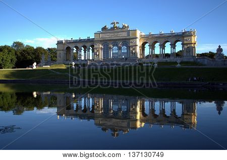 Schonbrunn main summer residence of the Austrian Habsburg emperors, Vien, Austria